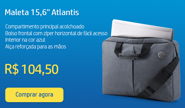 Maleta p/notebook 15,6'' Atlantis K0B38AA HP PT 1 UN PT 1 UN
